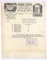 Facture Ancienne Robert STOOS Ettelbrück Luxembourg 1948 - BOSCH - Luxembourg