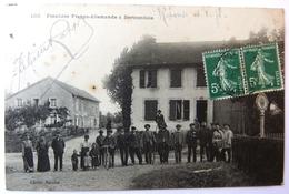 Frontière Franco-Allemande à Bertrambois - France