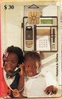 Zimbabwe - ZIM-14, Natasha & Tadiva 2 (With Names), Children, 30 Z$, 52.000ex, Exp. 5/00, Used - Simbabwe