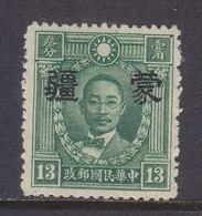 CHINA  MENG  CHIANG   2 N 8  Type II  Perf.  14   **  No Wmk. - 1941-45 Chine Du Nord