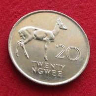 Zambia 20 Ngwee 1988 Zambie UNC - Zambie