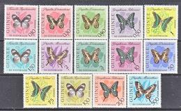 GUINEE  291 +, C 47-9  **  BUTTERFLIES - Guinea (1958-...)