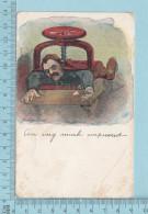 Humour Comics  -Am Very Much Impressed, Copy R. 1905 R. Sander- CPA Postcard Carte Postale - Humour
