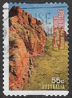 Australia 2010 World Heritage 55c Type 2 Self Adhesive Good/fine Used [38/31176/ND] - 2010-... Elizabeth II