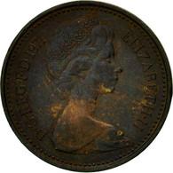 Monnaie, Grande-Bretagne, Elizabeth II, 1/2 New Penny, 1971, TB, Bronze, KM:914 - 1971-… : Monnaies Décimales