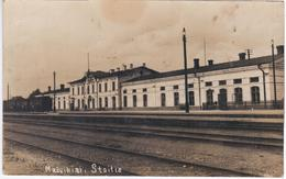 Lithuania Lietuva Mazeikiai Mazheikiai Train Station Railroad Railway - Lithuania