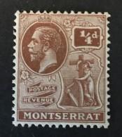 Montserrat - MH*  -  1922-1929 - # 54 - Montserrat