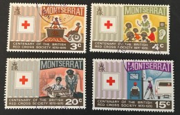 Montserrat - (o)  -  1970 - # 227/230 - Montserrat