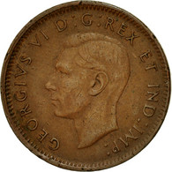 Monnaie, Canada, George VI, Cent, 1945, Royal Canadian Mint, Ottawa, TTB - Canada