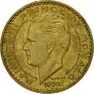 Monnaie, Monaco, Rainier III, 20 Francs, Vingt, 1950, TB, Aluminum-Bronze - Monaco
