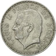 Monnaie, Monaco, Louis II, 5 Francs, 1945, TTB, Aluminium, KM:122 - Monaco