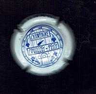 Capsule Champagne COUILLET-PETIT (51 PEAS)  Texte Bleu Sur Fond Blanc Bon Etat - Non Classés