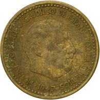 Monnaie, Espagne, Francisco Franco, Caudillo, Peseta, 1954, TB, Aluminum-Bronze - [ 5] 1949-… : Royaume