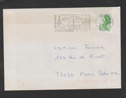 Flamme Dpt 63 : LA TOUR D'AUVERGNE (SCOTEM N°  5355 émise Le 12/01/1981) : Station Verte - Altitude 1000m - Vacances - Poststempel (Briefe)