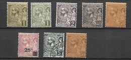 Monaco  1891 - 1922    Albert 1 Er   Cat Yt N°  LOT    N*  MLH ,  N° 47  OBLI - Monaco