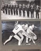 BASKETBALL  SLOVENIJA-JUGOSLAVIJA  1970   I.DANEV .... ALBUM  FOTO  23  FOTOS - Sports