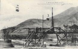 Arles-sur-Tech (P-O) - Ligne Aérienne Transportant Du Minerai Des Mines De Batère - Carte Non Circulée - Industry