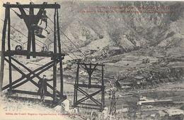Environs D'Amélie-les-Bains - Cables Pour Le Transport Du Minerai - Mines De Fer De Batère - Carte Non Circulée - Industry