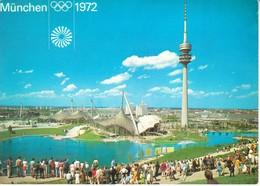 2840   AK--OLYMPISCHE SPIELE  MUNCHEN 1972 - Jeux Olympiques