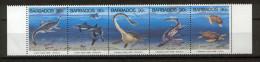 Barbados 1993 Dinosaurs MNH (R0448) - Barbados (1966-...)
