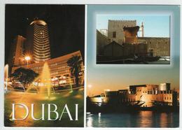 """{29096} Emirats Arabes Unis Dubaï City , Multivues . Circulée En ??   """" En Baisse """" - Emirats Arabes Unis"""