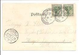 Bahnpost Aachen-Holzminden Zug 36. AK Düsseldorf - Briefe U. Dokumente