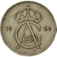 Monnaie, Suède, Gustaf VI, 50 Öre, 1964, TTB, Copper-nickel, KM:837 - Suède