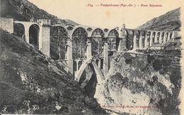 Pyérnées-Orientales, Fontpédrouse: Pont Séjourné En Construction - Carte Non Circulée - Ouvrages D'Art