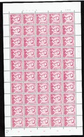 1069P3 Feuille 50  **  Pl 1 Cd 29VIII72 Avec 3 Var. (Luppi 15 Euros) - 1953-1972 Brillen