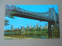 ETATS UNIS NY NEW YORK CITY QUEENSBORO BRIDGE LOOKING ACROSS THE EAST RIVER.......... - Queens
