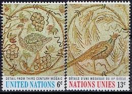 UNITED NATIONS # NEW YORK FROM 1969 STAMPWORLD 218-19** - New York - Sede De La Organización De Las NU