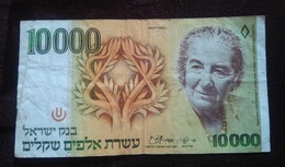 Israel - 10000 Sheqalim 1984 (Golda Meir) - Israel
