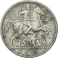 Monnaie, Espagne, 10 Centimos, 1941, TB, Aluminium, KM:766 - [ 4] 1939-1947 : Gouv. Nationaliste