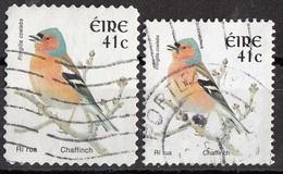 Irlanda 2002 Sc. 1361-1395 Birds Uccelli Chaffinch Fringilla Coelebs Fringuello Eire Ireland Used - Sparrows