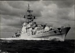 Cp Deutsches Kriegsschiff, Fregatte, F 224, Lübeck, Bundesmarine - Ships