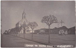 Pf. Largo De Santa Cruz. ARARAQUARA - Non Classés