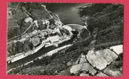 CPA (Réf : V 680) Barrage De COUESQUES (12 AVEYRON) 2 - Et Usine électrique - Francia