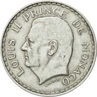 Monnaie, Monaco, Louis II, 5 Francs, 1945, SUP, Aluminium, KM:122 - Monaco