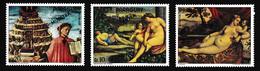 ParaguayXxNus Féminins - Peinture - TitienY&TPA637-639MUESTRA - Ouzbékistan