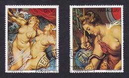 ParaguayONus Féminins - Peinture - RubensY&TPA803 - 804 - Oezbekistan