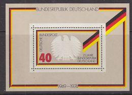 Germany 1974 25J. Bundesrepublik M/s ** Mnh (39914) - [7] West-Duitsland