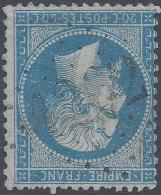 FRANCE 1862 20c Nº 22 CUTS 1262 INDICE 11 - 1862 Napoleon III