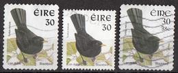 Irlanda 1997... Birds Uccelli  Merlo Blackbird Turdus Merula Ireland Eire Used - Sparrows