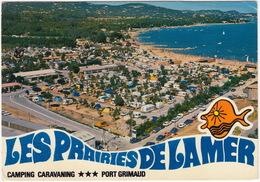 Port Grimaud: CITROËN SM, MÉHARI, GS, FORD TAUNUS TC1 TURNIER - Camping-Caravaning 'Les Prairies De La Mer' - (France) - Toerisme