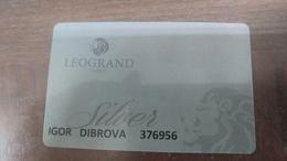 Georgia-leogrand Casino Card-(igor Dibrova-376956)-(1)-used - Casino Cards