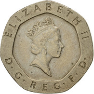 Monnaie, Grande-Bretagne, Elizabeth II, 20 Pence, 1987, TTB+, Copper-nickel - 1971-… : Monnaies Décimales