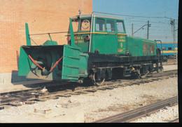 Maquina Quitanieves 300.102.1 Serie 300.100 A 300.103  Tipo B - Trains