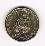 &   AUSTRALIE  1  DOLLAR  1999 - Monnaie Décimale (1966-...)