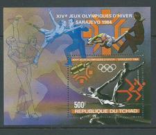Chad 1983 Sarajevo Olympic Games Miniature Sheet MNH - Chad (1960-...)