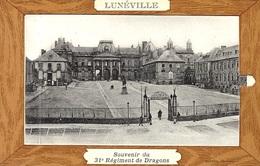 Carte à Système - LUNEVILLE - Souvenir Du 31 è Régiment De Dragons  - Sans éditeur - Luneville
